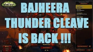 Bajheera - THUNDER CLEAVE IS BACK IN LEGION!!! - WoW Legion 7.2 Arms Warrior PvP