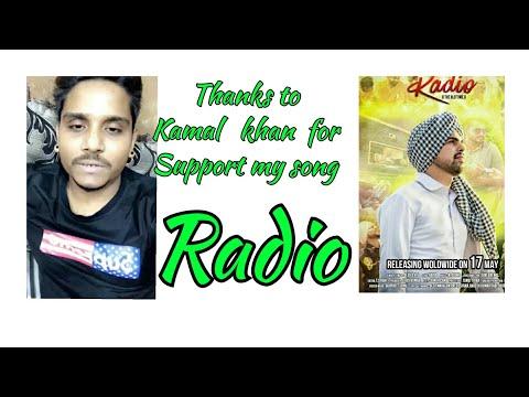 Kamal Khan ਜੀ ਨੇ Deep DRG ਦੇ ਗੀਤ Radio ਦੀ Sport ਕੀਤੀ।