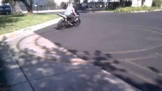 DMV Motorcycle Test Practice Suzuki GSX-R 600 - Failed Attempt