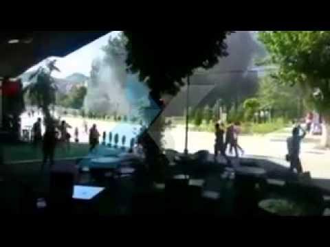 MITROVICA'DA OLAYLI PROTESTOLARIN BOLANCOSU 22 06 2014