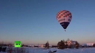 Федор Конюхов побил мировой рекорд по продолжительности полета на воздушном шаре