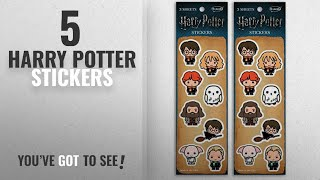 Top 10 Harry Potter Stickers [2018]: Re-marks Harry Potter Wizards Sticker Sheet (2 pack) - (6