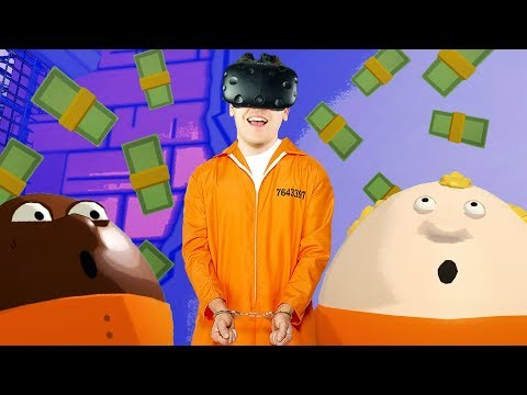 Virtual Reality Prison! - Prison Boss VR Gameplay - VR HTC Vive