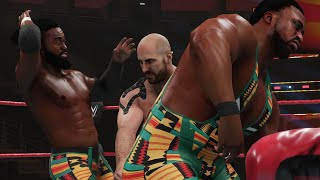 WWE Extreme Rules 2020 - New Day vs Shinsuke Nakamura and Cesaro Full Match (WWE 2K Gameplay)