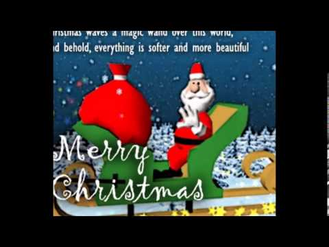Christmas Greeting Card Wishes Cardsecardsegreetingimages Youtube