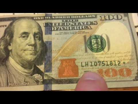 Searching The Print Run - How To Find Out If Your Star Note / Bank Note Is Rare & Valuable