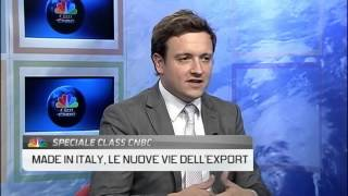 Interview Ludovic Subran CNBC - Made in Italy Products in 2015