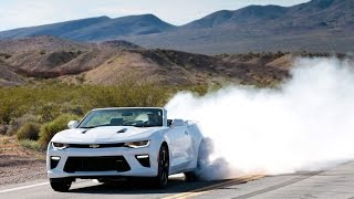 Burnouts in the 2016 Camaro 2.0T and SS Convertible