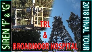 Broadmoor Siren 'F' and 'G' - TRL and BROADMOOR HOSPITAL.  Still there?