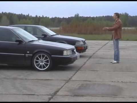 Audi 200 vs Audi V8