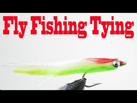 Fly  Fishing Tying - Epoxy Clouser Minnow By Daniel Pierlet - HD # 23 - Daniel Pierlet