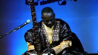 Toumani Diabate playing the kora in New Delhi. Saturday, Dec 3, Nehru Park