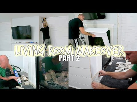 DIY PROJECT | LIVING ROOM MAKEOVER | TRANSFORMATION PART 2