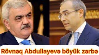 Təcili:Mehriban Əliyevadan Rövnəq Abdullayevə böyük zərbə:SOCAR əlindən alınır...