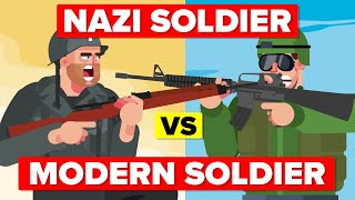 Modern Soldier Vs World War II Nazi - Who Would Win?