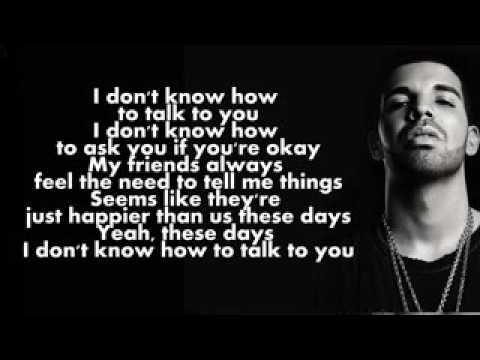 Drake ft. Rihanna - Too Good (Lyric Music Video) - YouTube