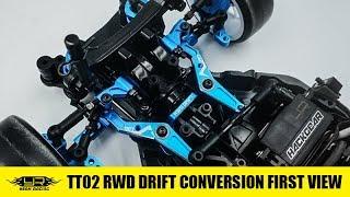 Yeah Racing TT02 RWD Drift Conversion First View