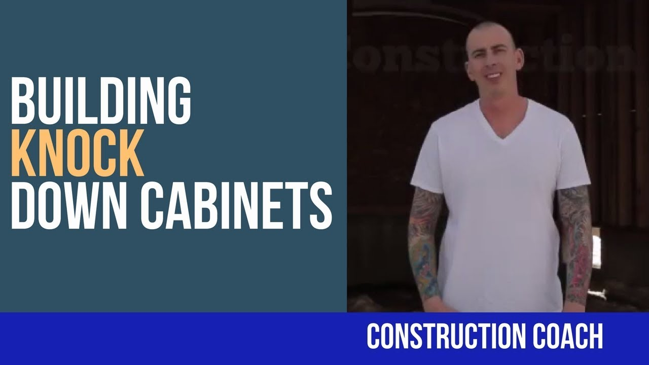 Knock Down Cabinets