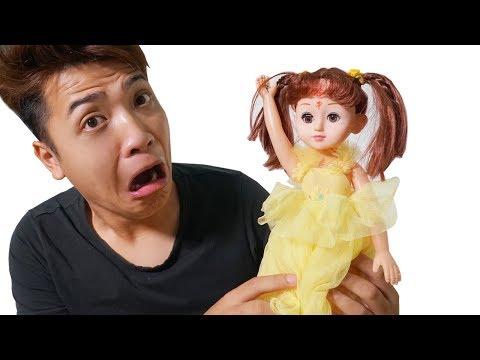 NTN - Thử Nuôi Búp Bê Ma Kumanthong (Try to raise kumanthong doll) thumbnail