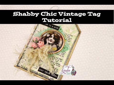 Shab Chic Vintage Tag Tutorial