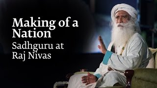 At the Raj Nivas Lecture Series in Puducherry, Sadhguru spoke on th...