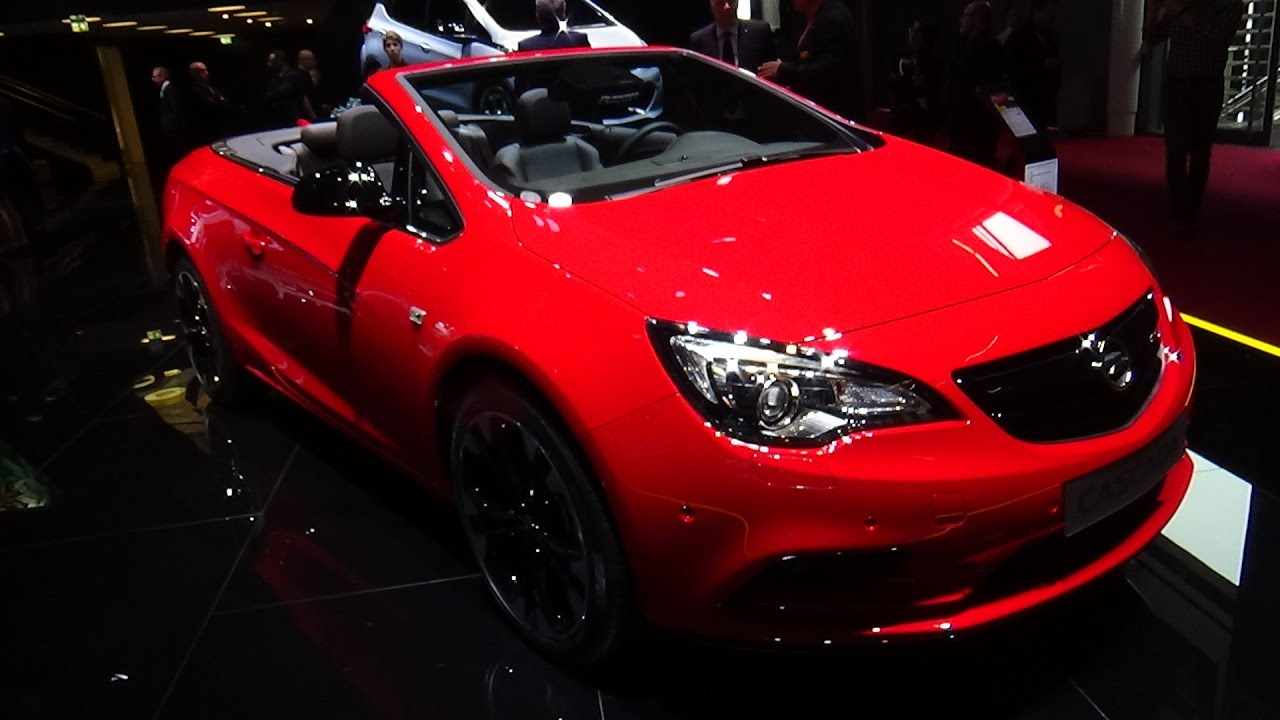 2017 opel cascada supreme exterior and interior paris auto show 2016 youtube. Black Bedroom Furniture Sets. Home Design Ideas