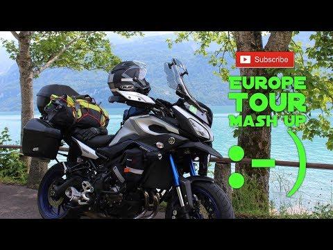 European Motorcycle Tour mashup