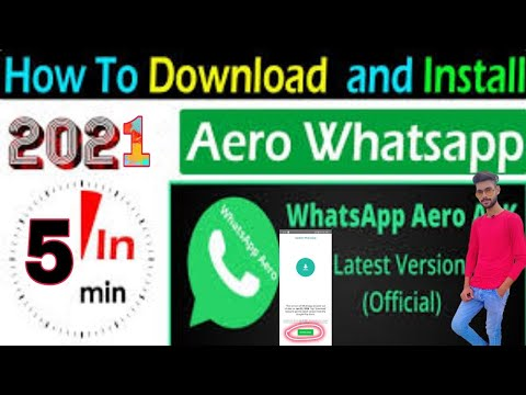 How to solve Aero Whatsapp update problem (100% solution) /Latest Aero Whatsapp update v8.61 Version