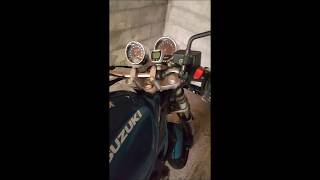 Bruit moteur Bandit 600