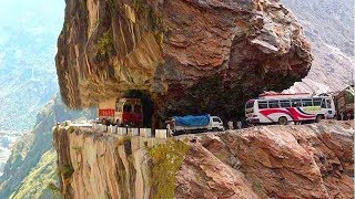 7 Most Dangerous Roads In The World In Urdu/Hindi .7 Death Roads You Would Never Want to Drive On