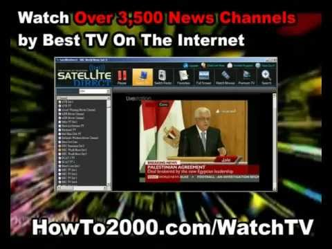 Satellite Television San Francisco | Watch Over 3500 News Channels!