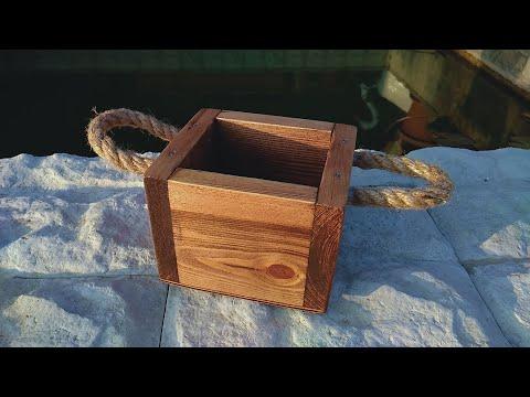 Ящик из поддонов своими руками