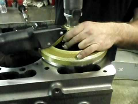 CUMMINS 855 COUNTER BORE MACHINING BY PRECISION AUTOMOTIVE DIESEL