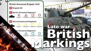 Tutorial | Understanding British vehicle markings & decals | Flames of War