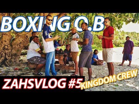 LOCAL BOXING AT PRINCE CHARLES PARK - FIJI VLOG #5