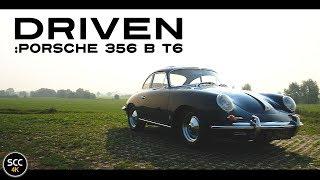 4K - Porsche 356 B | 356B T6 | BT6 1600 1963 - Test drive in top gear with engine sound