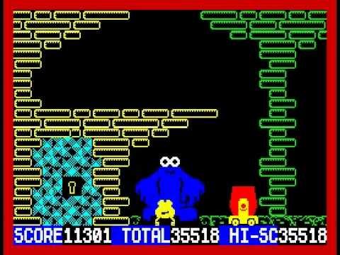 Through the Trap Door Walkthrough ZX Spectrum  sc 1 st  YouTube & Through the Trap Door Walkthrough ZX Spectrum - YouTube