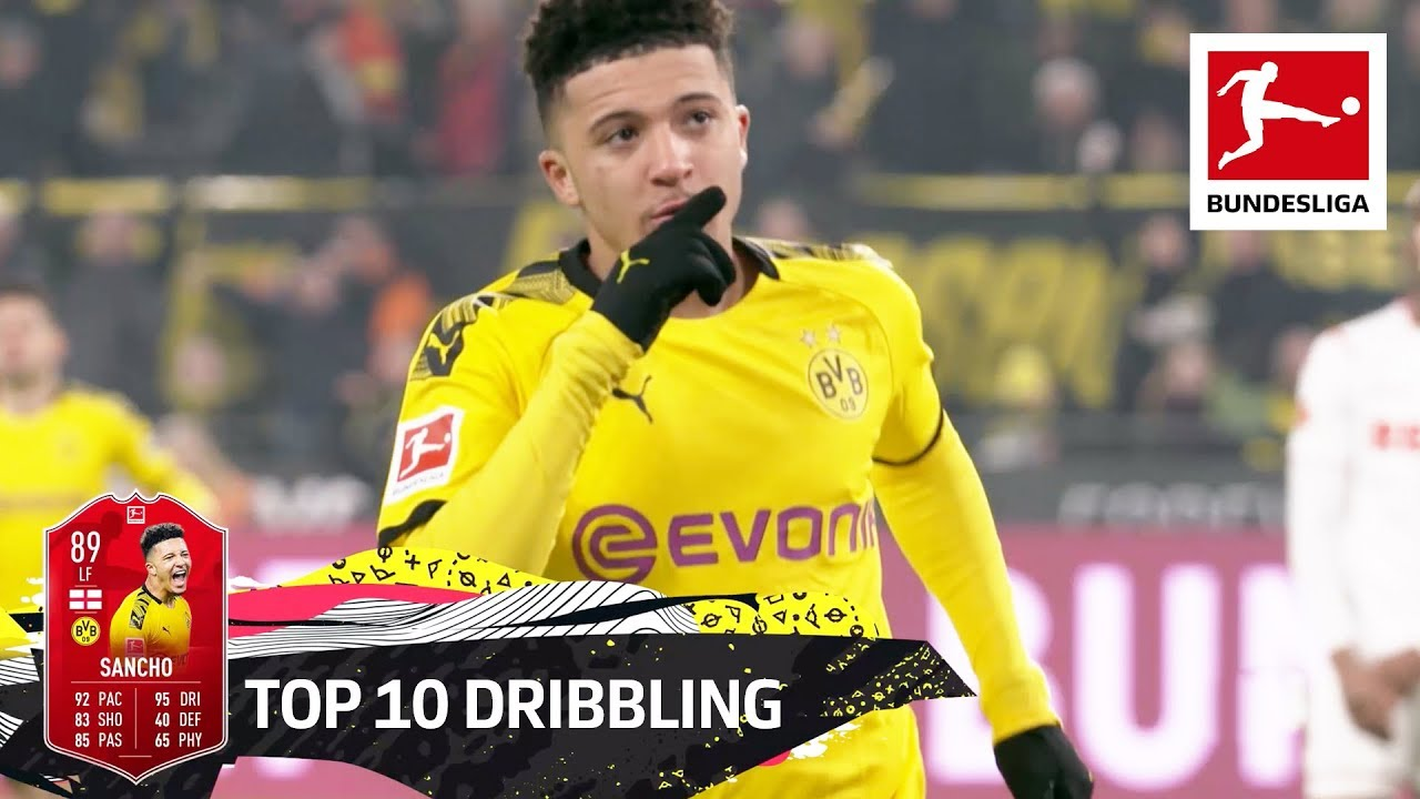 Top 10 Best Dribblers - Sancho, Coutinho, Havertz & More   EA SPORTS FIFA 20