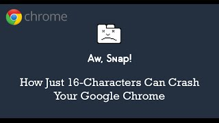 How To Crash Chrome Browser With Tiny Url!