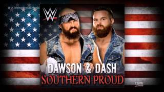 wwe nxt southern proud itunes release by cfo dawson dash theme song