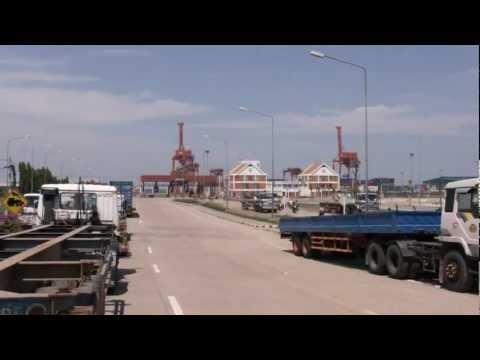 Cambodia: Sihanoukville Port 2012