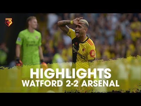 HIGHLIGHTS | WATFORD 2-2 ARSENAL