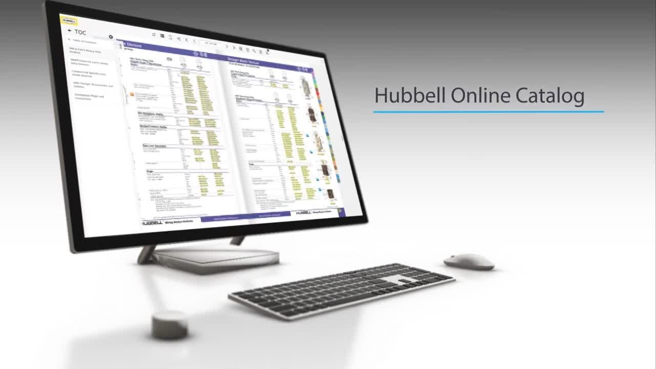 New Online Catalog from Hubbell Wiring Device-Kellems Introduces Time-Saving on hubbell lighting, hubbell twist lock, hubbell raceway, hubbell 30 amp connector, hubbell 320 connector, hubbell fire rated poke through, twist lock devices, hubbell electric motors, hubbell floor box covers, flir devices, infinity devices,