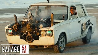 Ladzilla (7-liter Lada build) – first drive