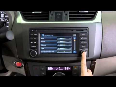 2013 Nissan Sentra Audio System With Navigation Tri