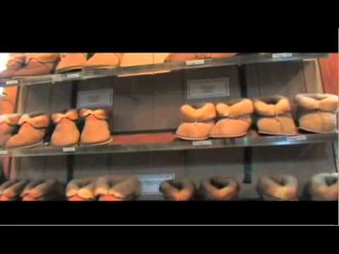 Seattle Sheepskin Slippers At Pike Place Market
