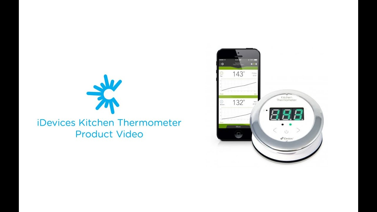 iDevices Kitchen Thermometer - Smart Electronics - C Spire - YouTube