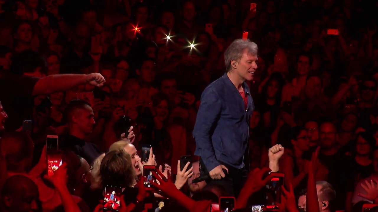 Bon Jovi: Bed of Roses - 2018 This House Is Not For Sale Tour