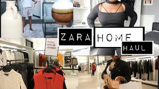 ZARA HOME decor HAUL,and ZARA SALES ITEM try on HAUL