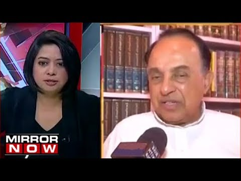 Subramanian Swamy Speaks On Impeachment Motion Against CJI D